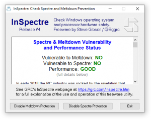 Cyber Security, Am I protected against Spectre and Meltdown, check if protected for spectre, Am I protected against Spectre and Meltdown?