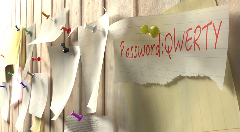 Password note