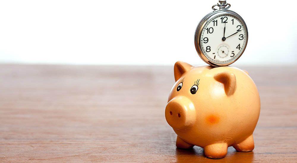 Piggybank with Timer
