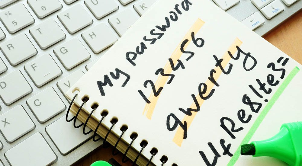 Password advice