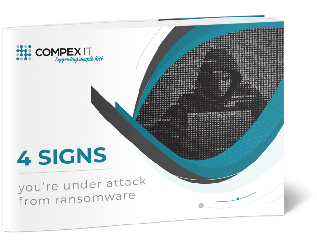 Compex_IT_4_Signs_Your_Under_Attack_from_Ransomware_Cover